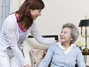What are the signs that live-in care is needed?
